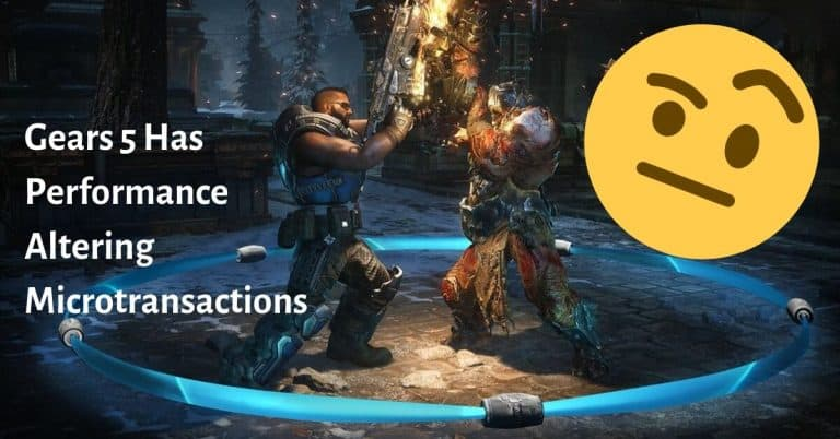 Gears 5 Has Performance Altering Microtransactions