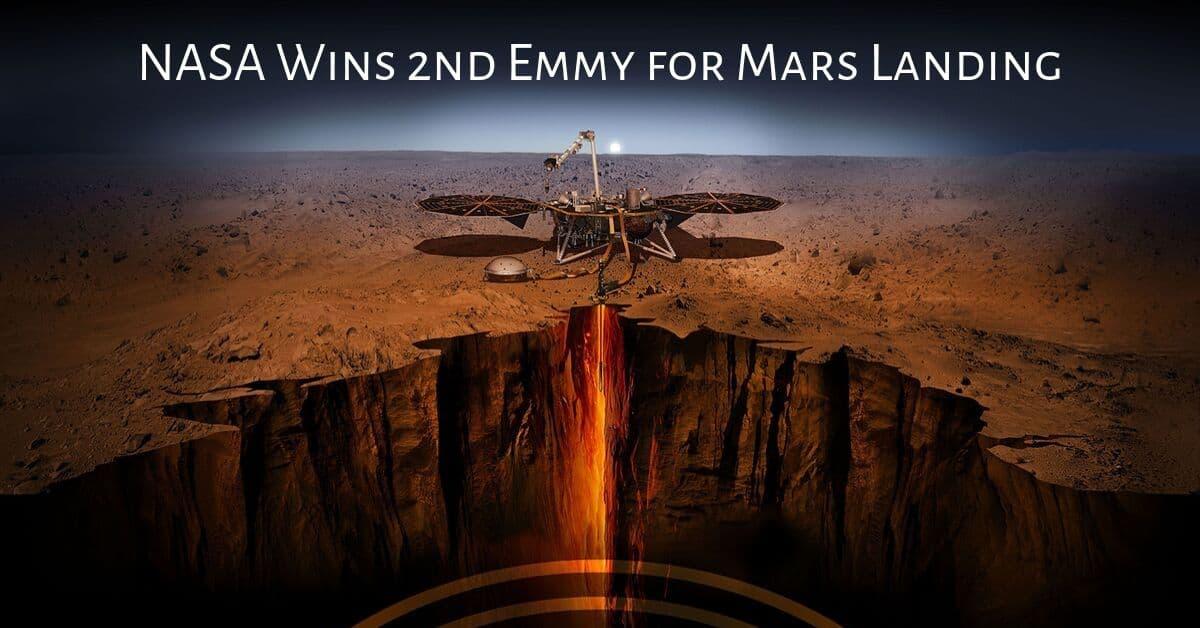 NASA Wins 2nd Emmy for Mars Landing 1