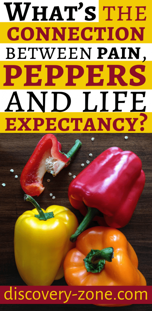 What's the connection between pain, peppers and life expectancy? 1